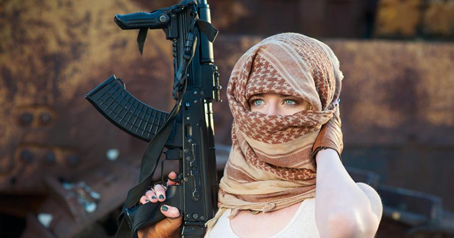 Frauen für den Dschihad – Europas Angst vor dem weiblichen Terror