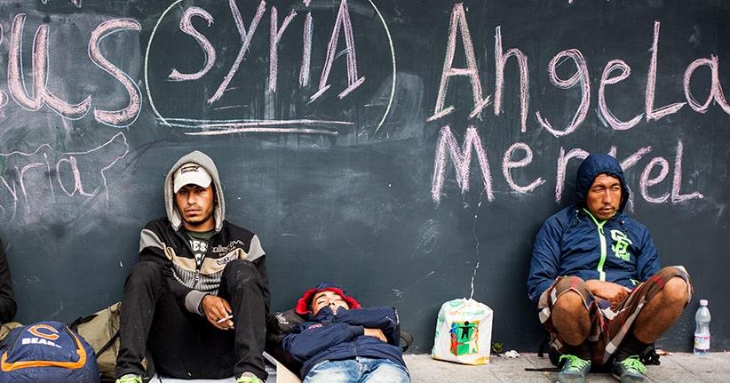 Angela Merkel und die Flüchtlingskrise