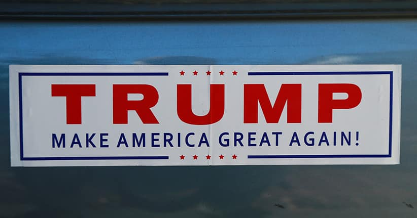 Die Superparty des Donald Trump