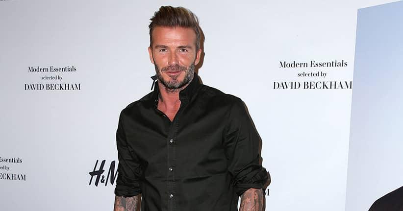 Will David Beckham durch Tricks zum Ritter werden?