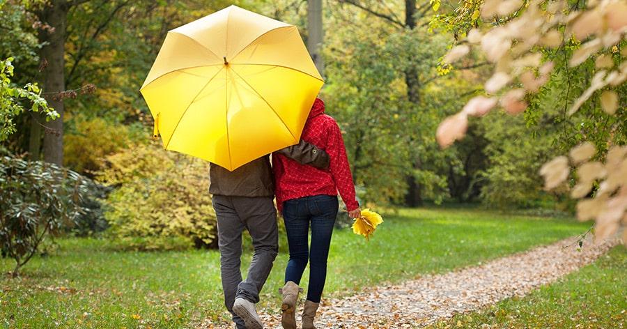 Der Regenschirm – das wichtigste Accessoire in diesem Sommer