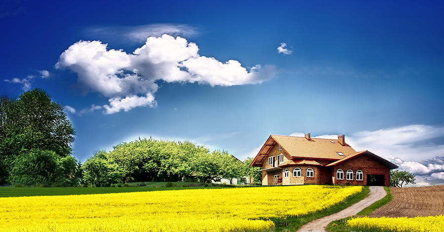 Der Traum vom Eigenheim: Viele zieht es in ländlichere Regionen