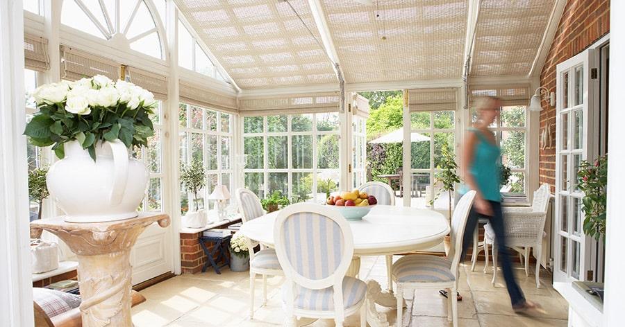 Veranda und Wintergarten - so lässt sich der Wert eines Hauses deutlich steigern