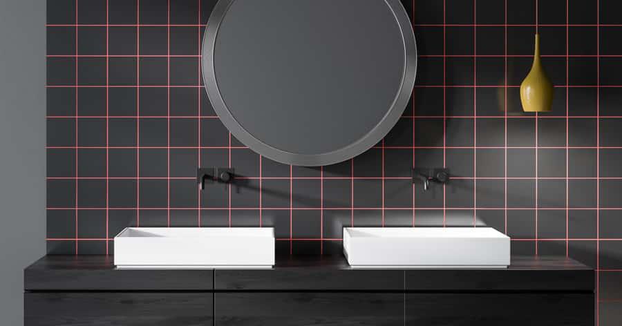 Schwarze Badarmaturen setzen jedes Bad in Szene