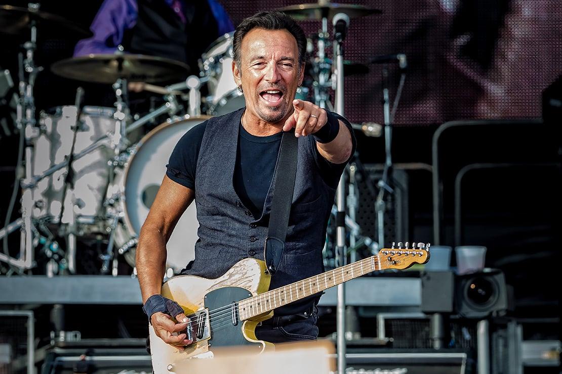 Geldstrafe für Bruce Springsteen