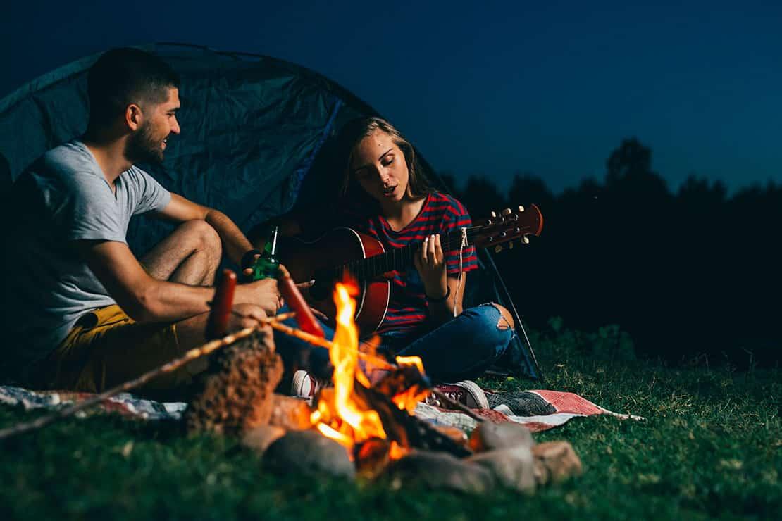 Das richtige Zelt für den Campingurlaub finden