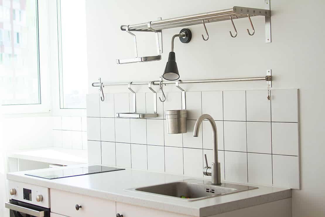 Die Küche für Singles – klein, praktisch und kompakt
