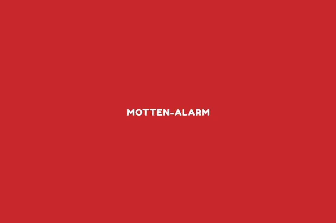 Motten-Alarm