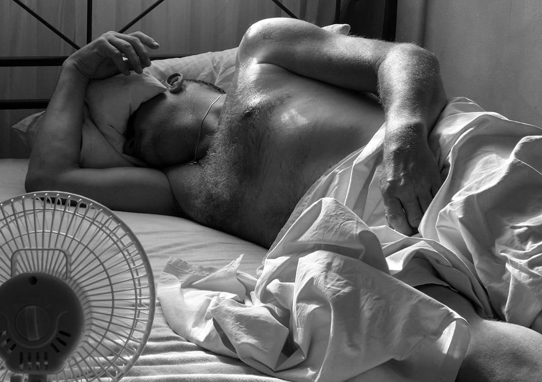 Kühlende Bettwäsche für tropische Nächte