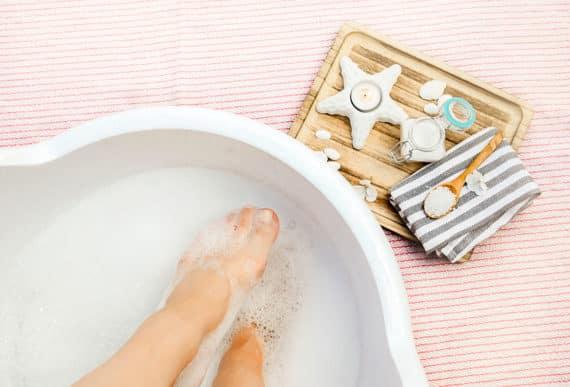 Der Fußbad Pool – eine echte Wohltat für die Füße