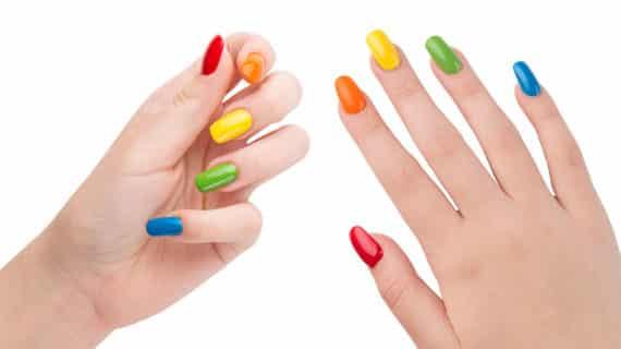 Rainbow Nails – der heiße Trend für die Nägel