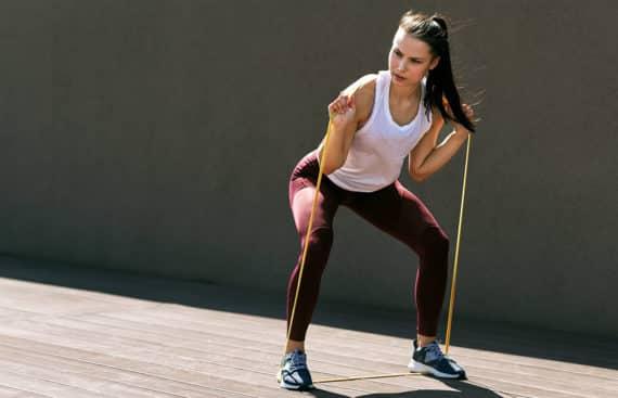 Welche Vorteile hat das Training mit Fitnessbändern?