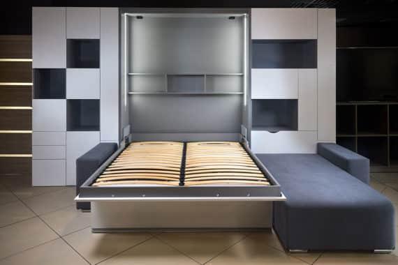 Wie das praktische Schrankbett mehr Wohnraum zaubert