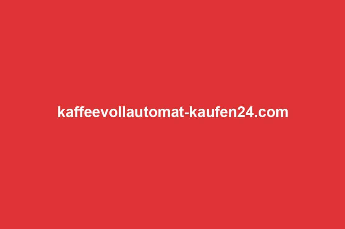 Mit Kaffeevollautomat-kaufen24 die passende Kaffeemaschine finden